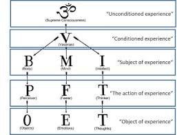 Body Mind Intellect Chart Reflections On The Self Unfoldment Book By Swami