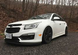 Lowered White Chevy Cruze | CHEVY CRUZE | Pinterest | Cars ...