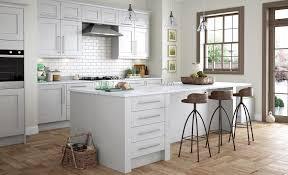 Classic Modern Kitchen Florence Classic Stone Light Grey Kitchen Stori