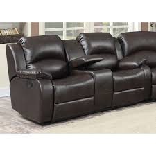 Samara Transitional Reclining Loveseat With Storage Console And Cup Holders Recliner Cup Holder Storage72