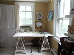 craft room home office design. Office Craft Room. Room Progress With Girly Home Design