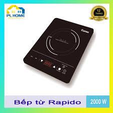 Bếp từ Rapido, bếp điện từ đơn – Hàng chính hãng, bảo hành 12 tháng