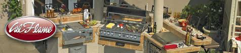 cal flame outdoor kitchen grill cabanas