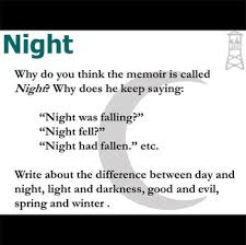 night journal quickwrite writing prompts by elie wiesel tpt night journal quickwrite writing prompts by elie wiesel