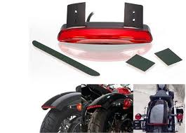 1pcs motorcycle light cafe racer rear fender edge red led brake