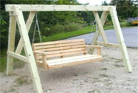 wooden bench swing sets wooden bench swing outdoor porch plans sets wooden bench swing set plans