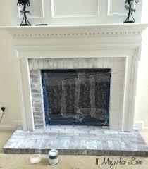 brick fireplace surround brick fireplace mantel removal