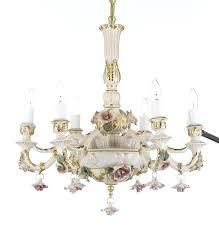 capodimonte porcelain chandelier authentic capodimonte porcelain chandelier capodimonte porcelain chandelier