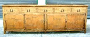 extra long sideboard.  Long Extra Long Sideboards And Buffets Sideboard Buffet Vintage  Industrial Furniture O