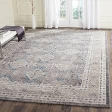 10 x 14 rug desire safavieh sofia vintage diamond light grey beige distressed 1