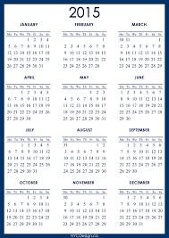 Calendar Planner Printable 2015 2015 Calendar Printable A4 Paper Size Navy Blue Monday