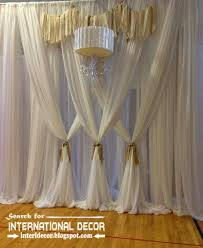 luxury black and silver curtain design for living room curtain designs
