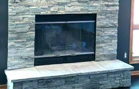 modern interior design medium size stacked stone veneer fireplace surround natural white white stacked stone