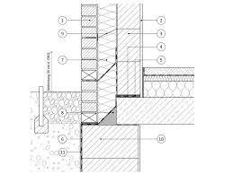 Zweischalige Wand Mit Fensteranschlag Mauerwerk Wand