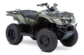 New 2013 Suzuki Kingquad 400 Electric Starter Fuel Injection Air Cooled Forsale Suzuki Atv Four Wheelers