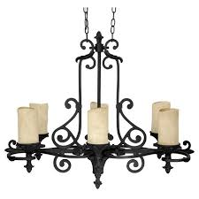home and furniture best choice of iron candle chandelier on six light wrought 3267wi 125