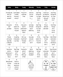 Homework Calendar Excel Sample Homework Calendar 9 Examples In Word Pdf