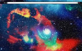 Google Wallpaper Theme Custom Galaxy 3d Google Chrome Theme