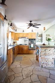 Mosaic Tile Kitchen Floor White Kitchen Backsplash Remodel Diana Elizabeth