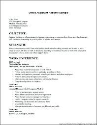 Resume Samples For Receptionist Jobs Fascinating Resume For Work Sample Sample Resume For New Job Seekers New Sample