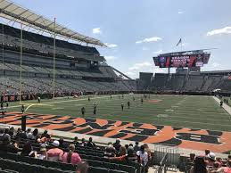 Browns Seating Chart 2017 Paul Brown Stadium Seating Chart View Www