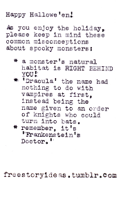 story ideas tags humor writing creative writing writer spooky halloween horror scary monsters frankenstein s monster frankenstein s creature doctor frankenstein