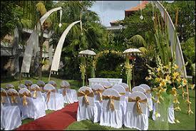 Bali dynasty kuta garden wedding package ...