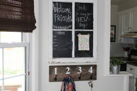 Small Chalkboard For Kitchen Small Entry Way Organization Simply Chic