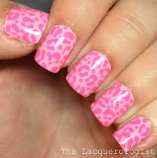 Monochromatic Pink Leopard Nail Art + Jamie & Nate's Wedding ...