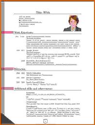 Most Recent Resume Format 78 Images Current Resume Formats