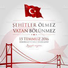 15 Temmuz Demokrasi Ve Milli Birlik Gunu Vektor Illustration Stock Vektor  Art und mehr Bilder von Ankara - Türkei - iStock