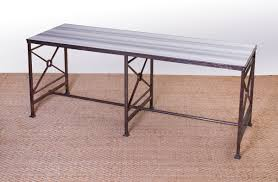 Metal Center Table Design French Metal Center Table Auction House Website