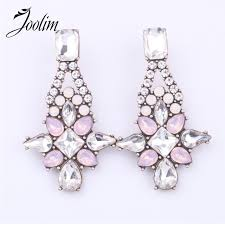 joolim jewelry whole pink light blue stud earring custom jewelry factory supply