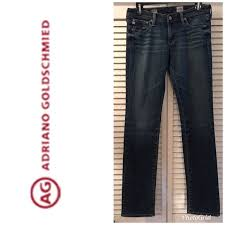 Adriano Goldschmied Jeans Size Chart Ag Jeans Charlotte Straight Leg Jeans Sz 28