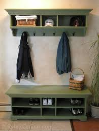 Shoe Coat Rack Cabinet