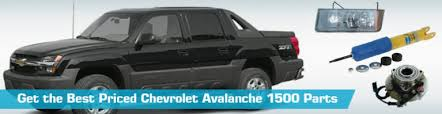chevrolet avalanche 1500 parts