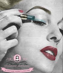1952 1 000 hints beauty magazine today s lesson eyeshadow eyeliner mascara