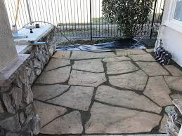 flagstone patio landscaping company