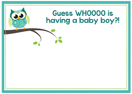 Baby Shower Template Free Printable Owl Baby Shower Invitations Other Printables 8