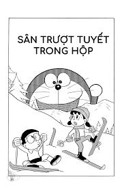 Truyện tranh Doremon - Tập 6 - Chương 4: Sân trượt tuyết trong hộp