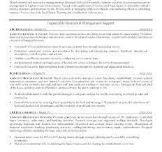 Resume And Cover Letter Help Restaurant General Manager Cover Letter ...