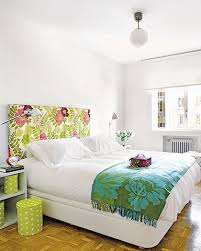 Mod Podge the pieces to your headboard and tape/command-strip a remaining  few up on the wall so it looks like the pattern grew off your headboard and  onto ...