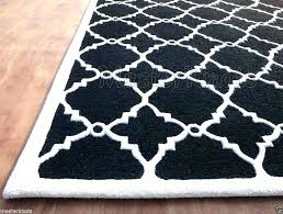 black and white rug area interesting rugs