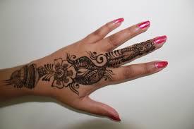 Henna Tetování Ruka