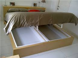 Comfortable IKEA Bed with Storage
