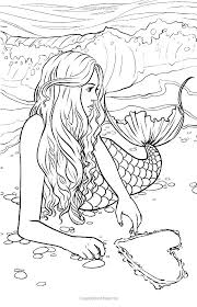 Free Mermaid Coloring Games Parkereneindhovenairportinfo