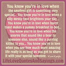 You Know You Re In Love When Quotes Impressive How Do You Know That You Re In Love