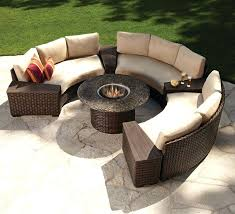 cool circular outdoor fire pit fire pit beautiful patio furniture sets circular for popular