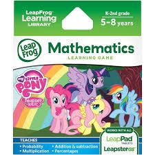 leapfrog explorer learning game hasbro my little pony friendship is magic walmart