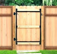 Wood and metal privacy fence Tongue Groove Horizontal Privacy Fence Gate Latch Wood Kit Steel Frame No Sag Brace Double Metal Wood And Metal Fences Metal Wood Privacy Fence Gate Frame Products Sonjasapps